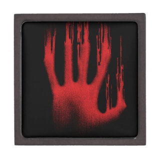 The Red Hand Keepsake Box