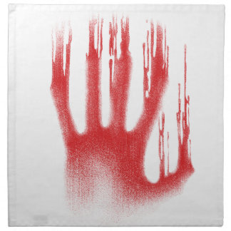 The Red Hand Napkin