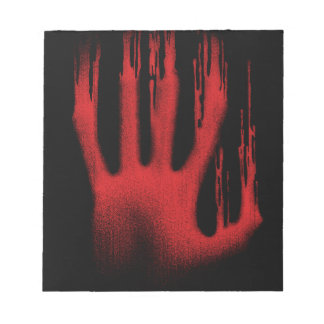 The Red Hand Notepad
