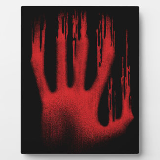 The Red Hand Plaque