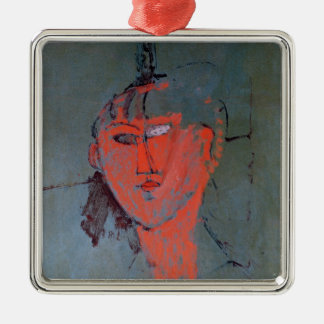 The Red Head, c.1915 Metal Ornament