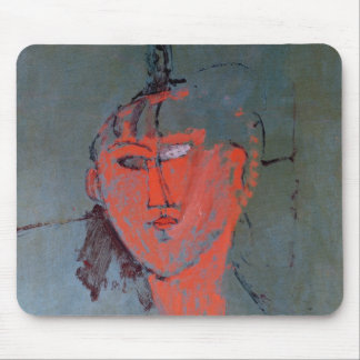 The Red Head, c.1915 Mousepads