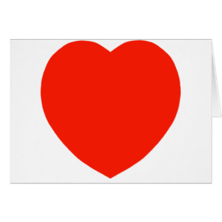 The Red Heart Card