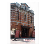 The Red House,in Taipei's Ximen space built Postcard