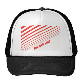 The red line. trucker hat