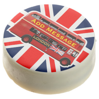The Red London Bus Chocolate Dipped Oreo
