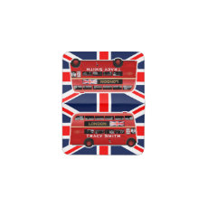 The Red London Double Decker Bus Business Card Holder