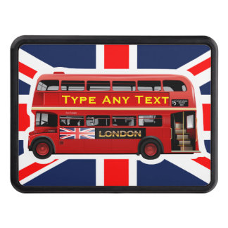 The Red London Double Decker Bus Hitch Cover