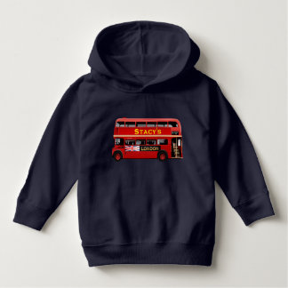 The Red London Double Decker Bus Hoodie