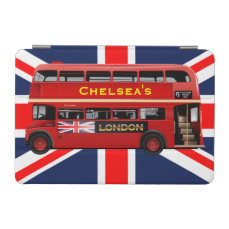 The Red London Double Decker Bus iPad Mini Cover