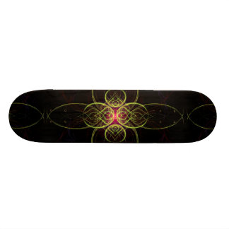 The Red Medallion by  Linandara Skateboard