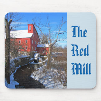 The Red Mill Mouse Pad