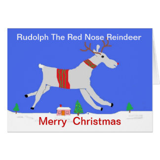 The Red Nose Reindeer Greeting Card