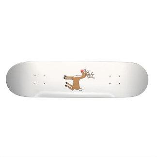 the red nose Reindeer Skate Decks