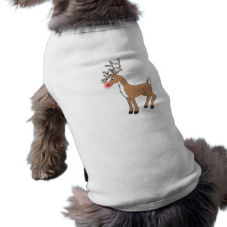 the red nose Reindeer T-Shirt
