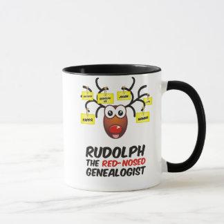 The Red-Nosed Genealogist Mug