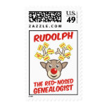 The Red-Nosed Genealogist Stamps