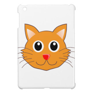 The Red-Nosed Orange Cat Cover For The iPad Mini