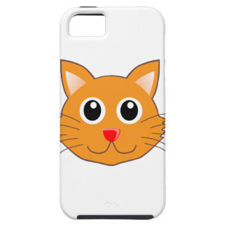 The Red-Nosed Orange Cat iPhone SE/5/5s Case