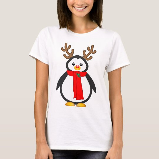 The Red Nosed Penguin T-Shirt