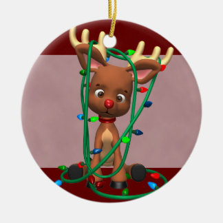 the Red Nosed Reindeer Christmas Ornament