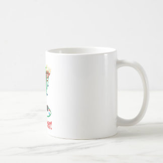 the Red Nosed Reindeer Gets Tangled Up Coffee Mug
