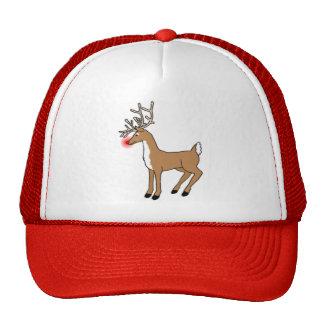 The Red Nosed Reindeer Trucker Hat