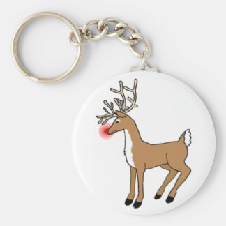 The Red Nosed Reindeer Keychain