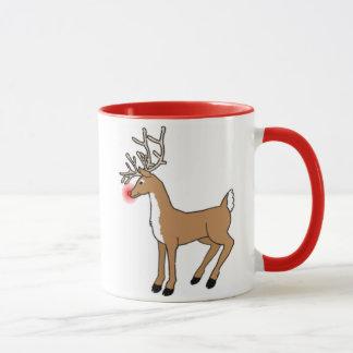 The Red Nosed Reindeer Mug