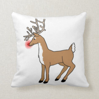 The Red Nosed Reindeer Pillows