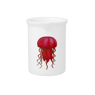 THE RED ONE BEVERAGE PITCHER