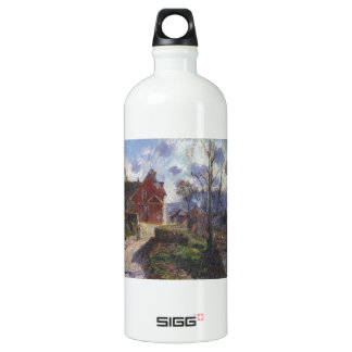 The red painted house by Gustave Loiseau SIGG Traveler 1.0L Water Bottle