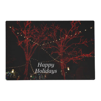 The Red Pair Greetings Placemat