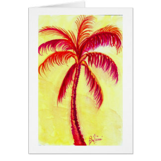 the red palm card