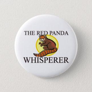 The Red Panda Whisperer Pinback Button