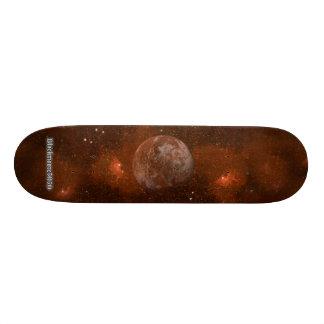 The Red Planet - Blackmoore5050 Custom Skate Board