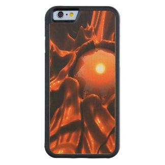 The Red Planet Carved® Maple iPhone 6 Bumper