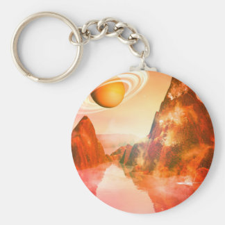 The red planet key chains