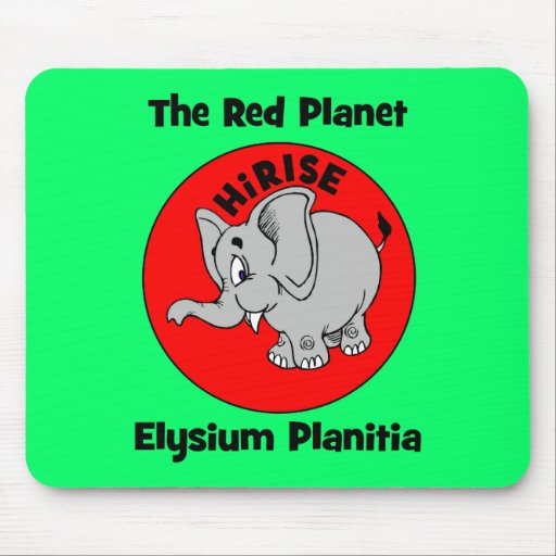 The Red Planet Mousepad