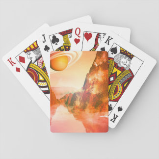 The red planet poker cards