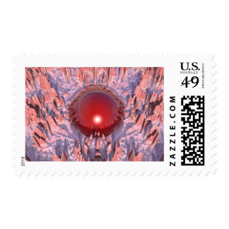 The Red Planet Postage