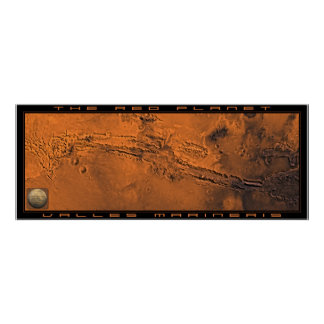 The Red Planet: Valles Marineris Poster