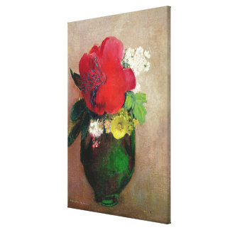 The Red Poppy Canvas Print