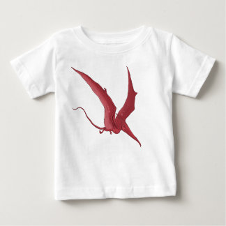 The Red Pterodactyl Baby T-Shirt