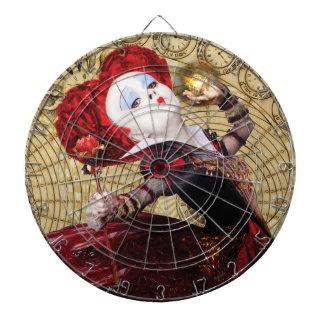 The Red Queen | Adventures in Wonderland Dartboard