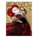 The Red Queen | Adventures in Wonderland Postcard