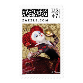 The Red Queen | Adventures in Wonderland Stamp