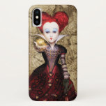 The Red Queen | Don't be Late 2 iPhone X Case