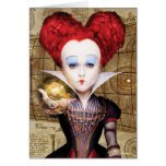 The Red Queen | Don't be Late Card