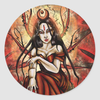 The Red Queen- Faery Stickers